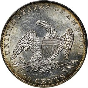 1836 REEDED GR-1 50C MS reverse