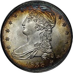 1838 50C MS obverse