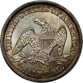 1847 50C MS reverse