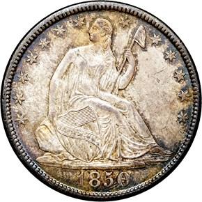 1850 O 50C MS obverse