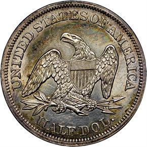 1852 50C MS reverse