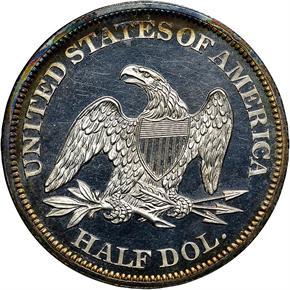 1862 50C PF reverse