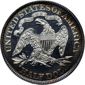 1882 50C PF reverse