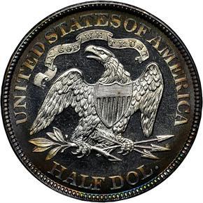 1887 50C PF reverse