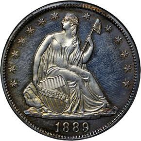 1889 50C PF obverse