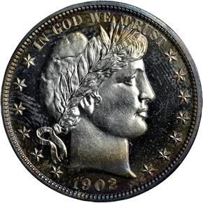 1902 50C PF obverse