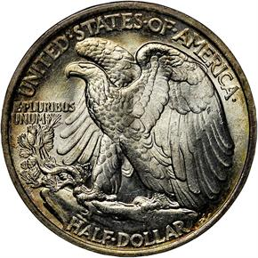 1921 50C MS reverse