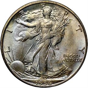 1936 S 50C MS obverse