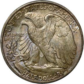 1938 D 50C MS reverse