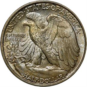 1937 50C MS reverse