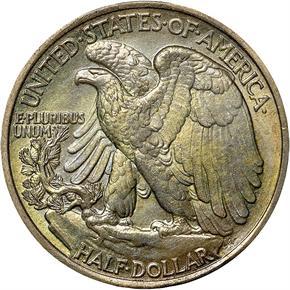 1939 50C MS reverse