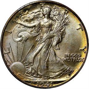 1941 D 50C MS obverse