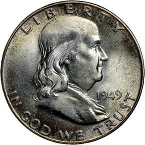 1949 50C MS obverse
