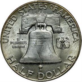 1949 D 50C MS reverse