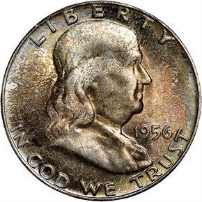 1956 50C MS obverse