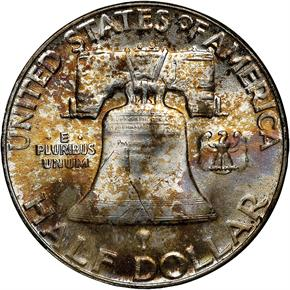 1956 50C MS reverse
