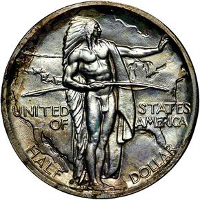 1938 S OREGON 50C MS obverse