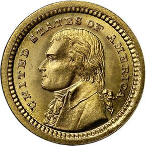 1903 JEFFERSON G$1 MS obverse