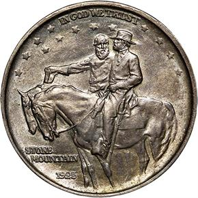 1925 STONE MOUNTAIN 50C MS obverse