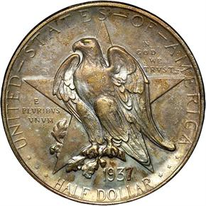 1937 TEXAS 50C MS obverse