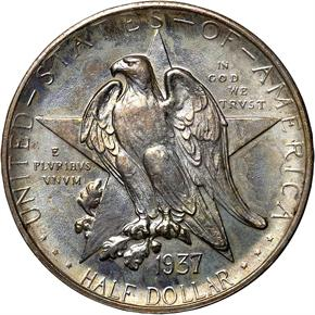 1937 D TEXAS 50C MS obverse