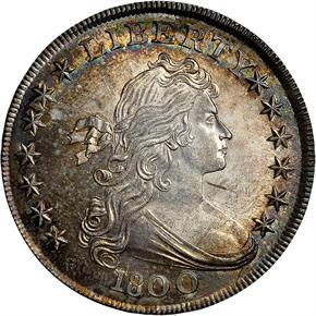 1800 S$1 MS obverse