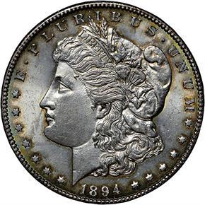 1894 S S$1 MS obverse