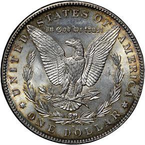 1894 S S$1 MS reverse