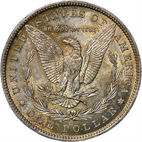 1885 O S$1 MS reverse