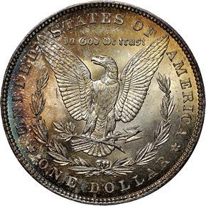 1896 S$1 MS reverse
