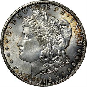 1902 O S$1 MS obverse