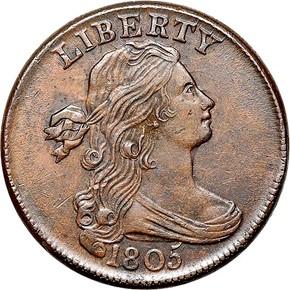 1805 1C MS obverse