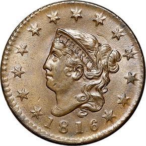 1816 1C MS obverse