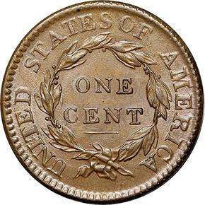 1816 1C MS reverse