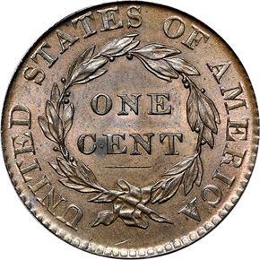 1820/19 1C MS reverse