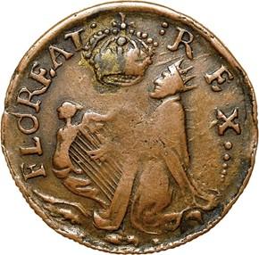 c.1670 ST.PATRICK NEW JERSEY 1/4P MS obverse