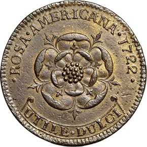 1722 WITH PERIOD ROSA AMERICANA 2P MS reverse