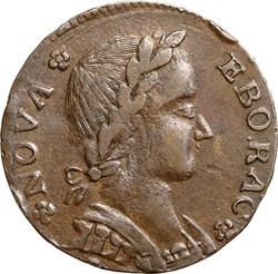 1787 FIGURE RIGHT NOVA EBORAC MS obverse