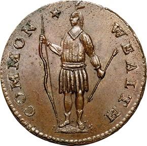1788 PERIOD MASSACHUSETTS 1C MS obverse