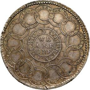 1776 SILVER 'EG FECIT' CONTINENTAL S$1 MS reverse