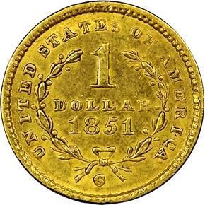 1851 C G$1 MS reverse
