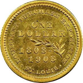 1903 MCKINLEY G$1 MS reverse
