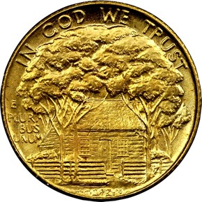 1922 GRANT-STAR G$1 MS reverse