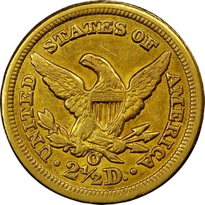 1851 O $2.5 MS reverse