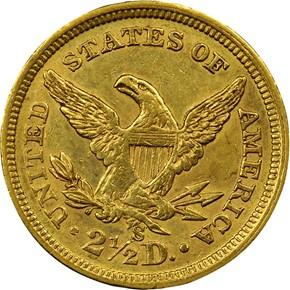 1869 S $2.5 MS reverse