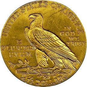 1909 $2.5 MS reverse
