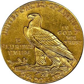 1914 D $2.5 MS reverse