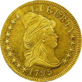 1795 13 LEAVES $10 MS obverse