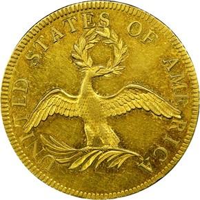 1795 13 LEAVES $10 MS reverse