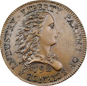1792 BIRCH J-5 1C MS obverse
